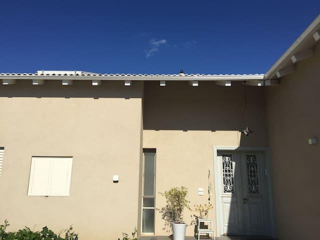 Beautiful stylish new country villa - Tal Shahar - Villa