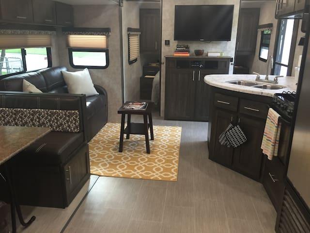 The Ladybird RV- East Austin/Downtown - Austin - Kamp Karavanı/Karavan