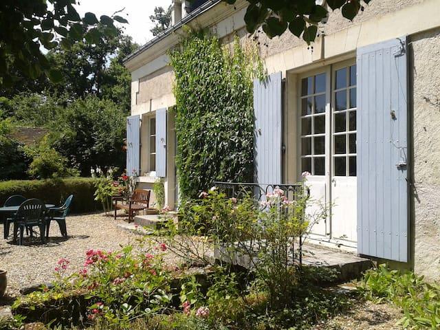 Gite de charme 3* et vaste jardin : La Soupiquerie - Preuilly-sur-Claise - Huis