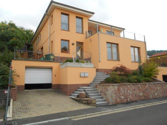 Ruhiges Haus mit toller Aussicht - Triefenstein - Appartement