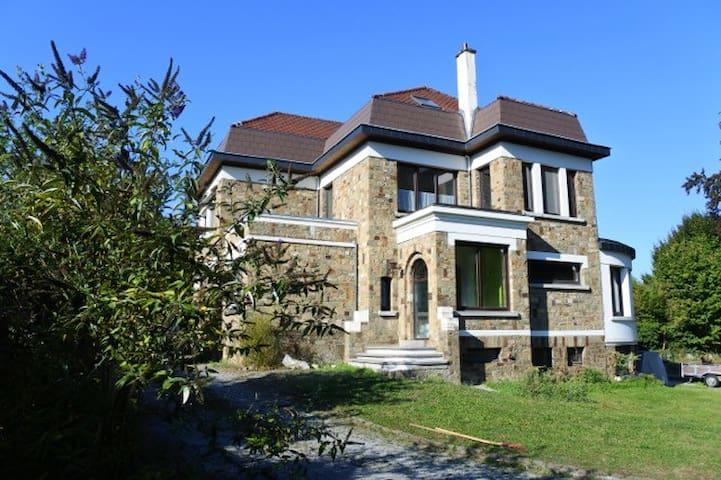 Les Rainettes, gîte mosan, 9 personnes, 5 chambres - Wanze - Naturstuga