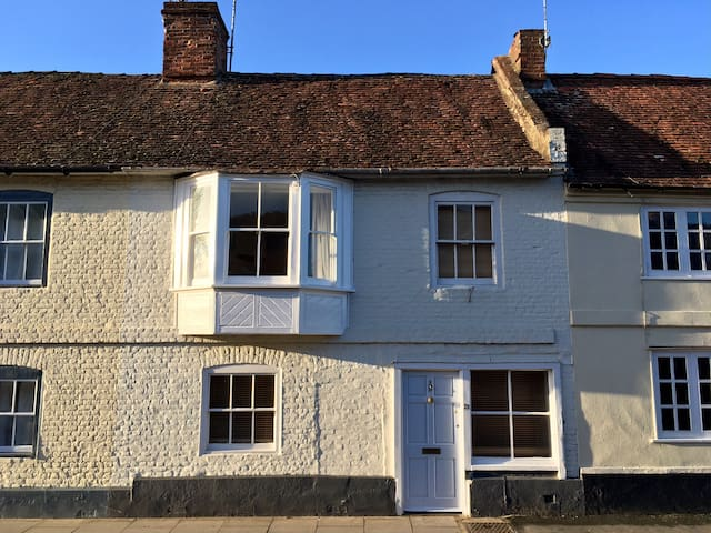 Grade II listed Georgian house in Wilton - Wilton - Huis