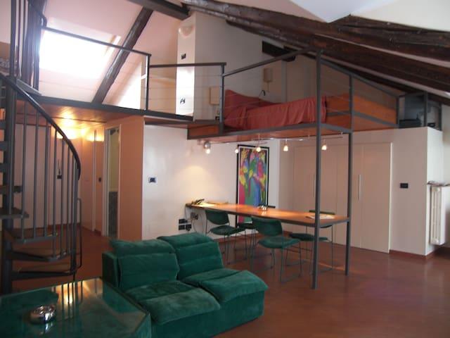 Loft su due piani in zona crocetta - Turin - Loft
