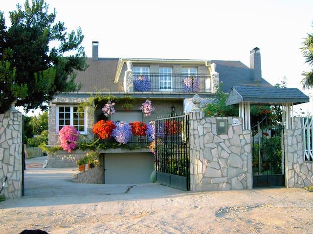 Casa Rural Las Chanas de Camponaraya - Camponaraya - 木屋