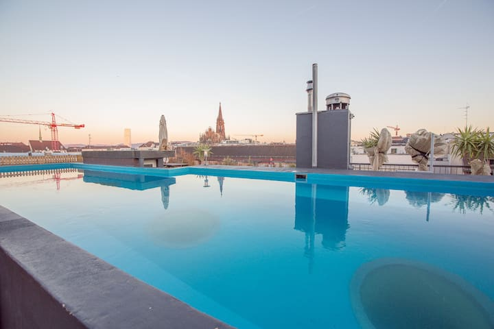 City Loft 6 Room | Rooftop Pool - Basel