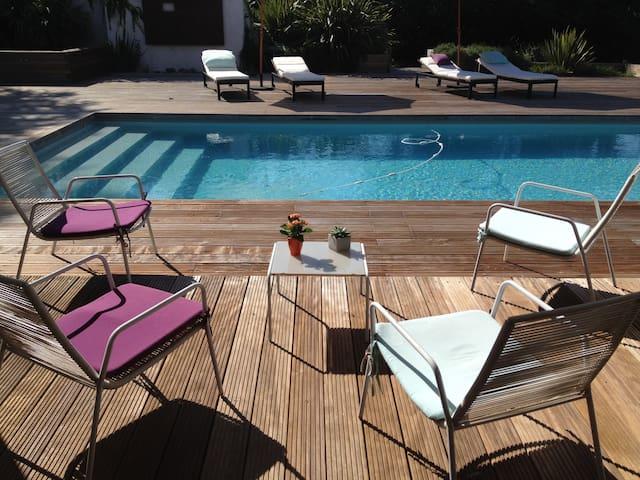 La Villa de Blandine Bed &Brfst  2 pers (+ 2 sup) - Vieille-Toulouse - Bed & Breakfast