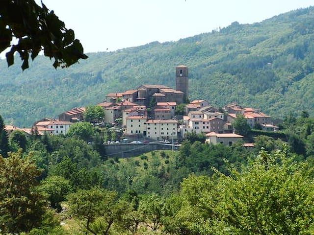 Graziosa casa in borgo medievale - Piteglio - Huis