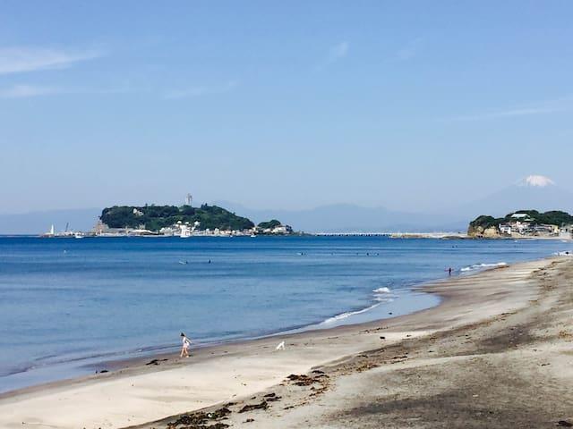 Kamakura Shichirigahama Train&Beach 1min walk #A-8 - Kamakura-shi - Hus