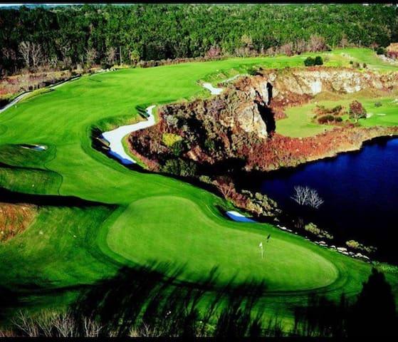 Spectacular Golf Course Home  in Black Diamond - Lecanto - Huis