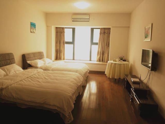 华发新天地商旅双床房 - Zhuhai - Wohnung