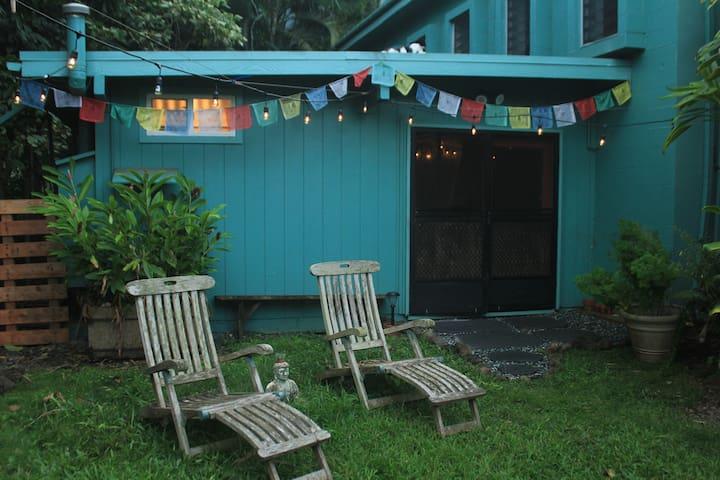 Comfortable Private Studio on Organic Farm - Waimanalo - Domek gościnny