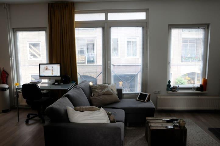Mooi Appartement bruisend Ginneken (Centrum Breda) - Бреда - Квартира