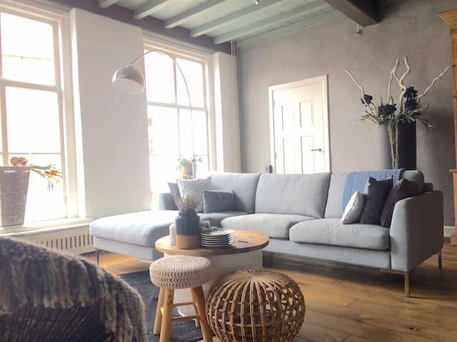 Heerlijk ontspannen in een Rijksmonument - Grave - Appartement