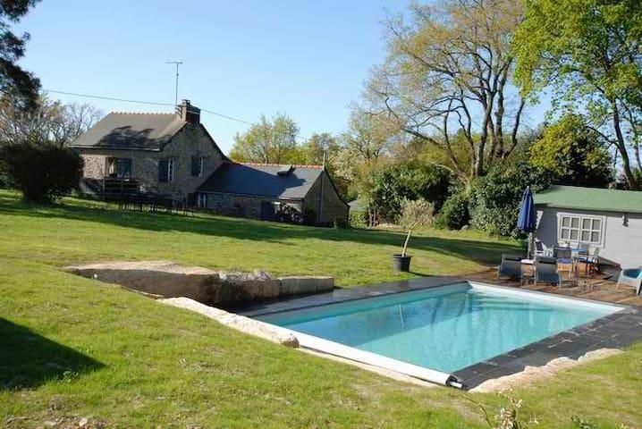 Maison piscine priv /port de foleux - Péaule