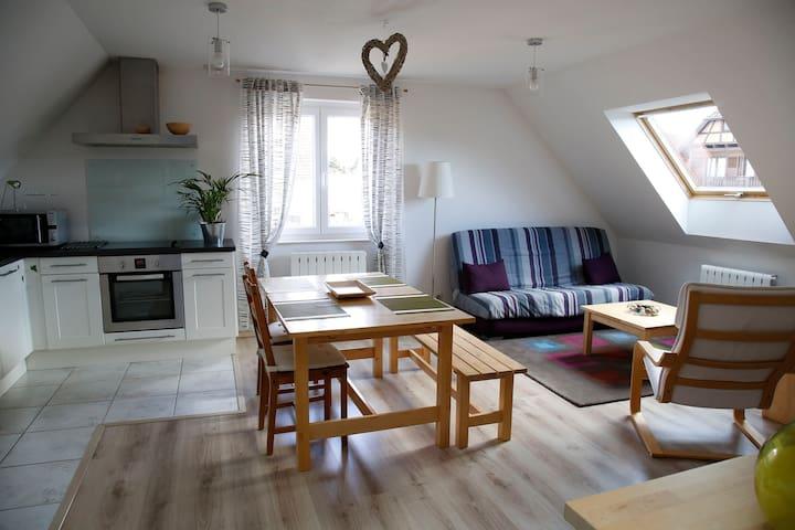 Bel appartement lumineux et tout équipé pour 4 - Nordhouse - Apartamento