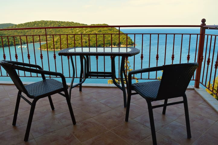 New House with a seaView, Sivota GR - Vola