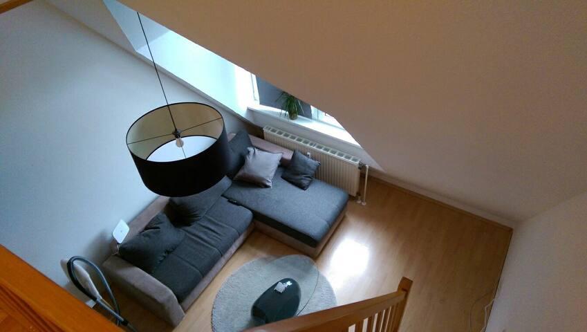Schöne Maisonette Wohnung in Altstadtnähe - Билефельд - Квартира