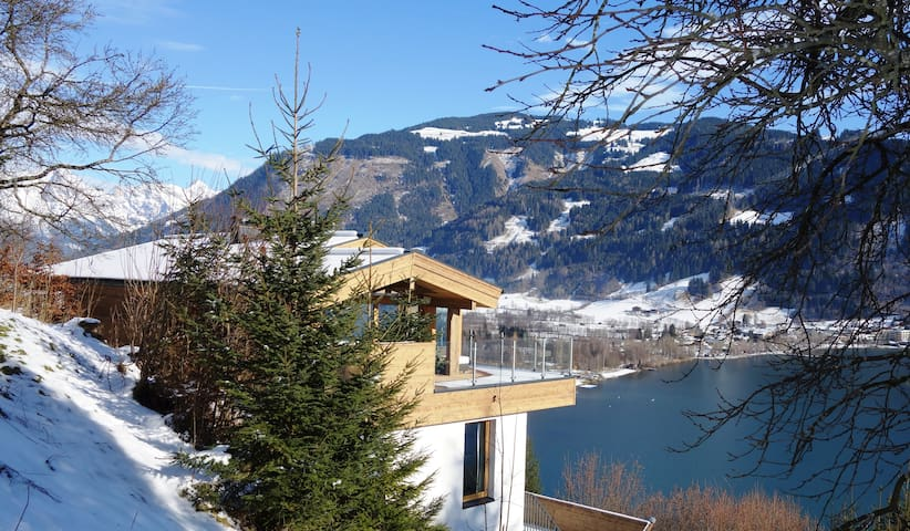 privé designer chalet 4 bedrooms - Zell am See - Alpstuga