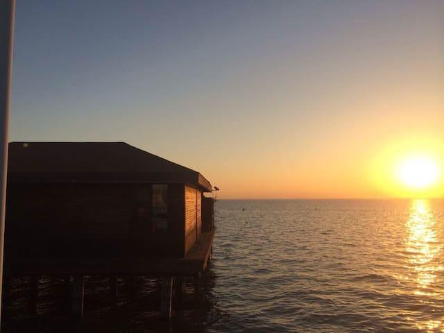 淀山湖梦莱茵帆船游艇俱乐部-1号水上木屋 Rhine Dream - 苏州 - Chalet