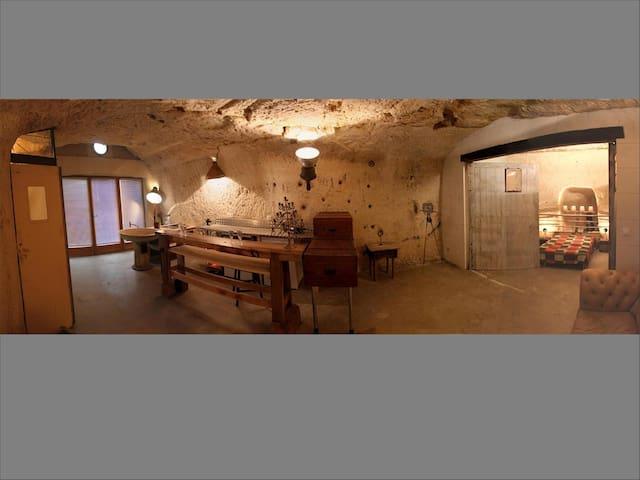 Troglodyte House - Montrichard - Höhle