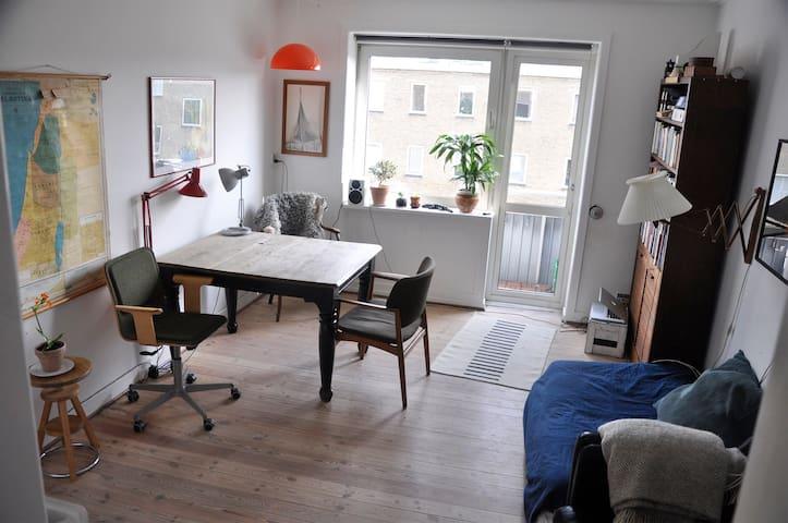 Lys og dejlig lejlighed i Nordvest v. Nørrebro - København - Apartment