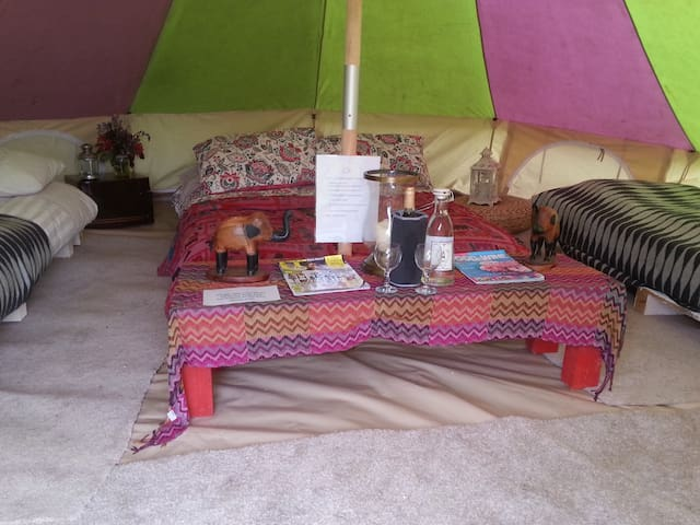 Gorgeous Yurts and Bell Tents  - Munny Upper