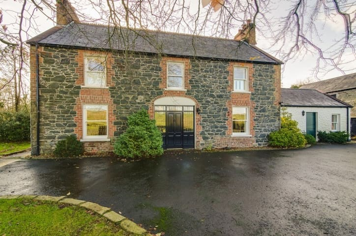 The Old Post Office and Farmhouse, Double Bedroom - Lisburn - 一軒家