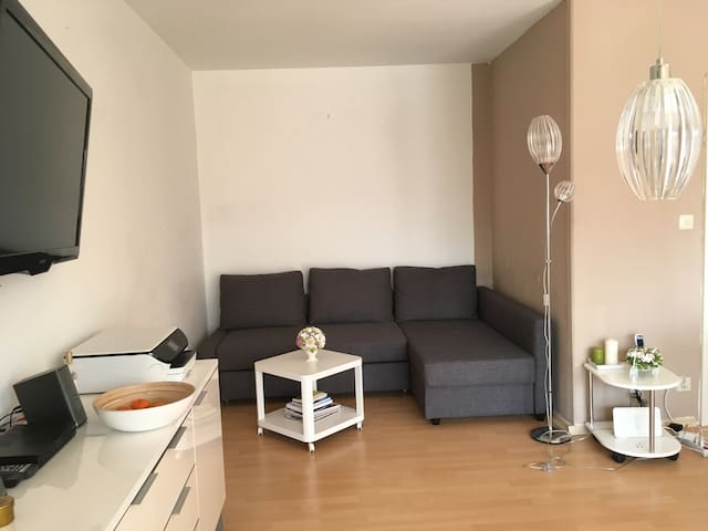 Cosy 2 room apartment, 6 min to fairground, Wi-Fi - Laatzen - Leilighet