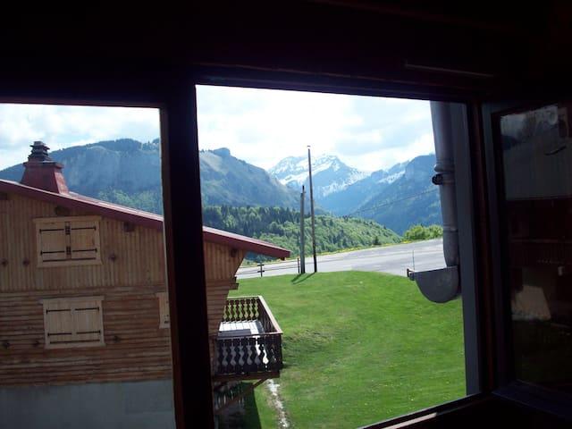 Beau studio situé au coeur des Alpes - Bellevaux - Appartement