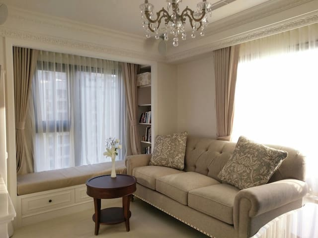 Luxury comfy home 1min to MRT, EXCELLENT Location! - Beitou District - Daire