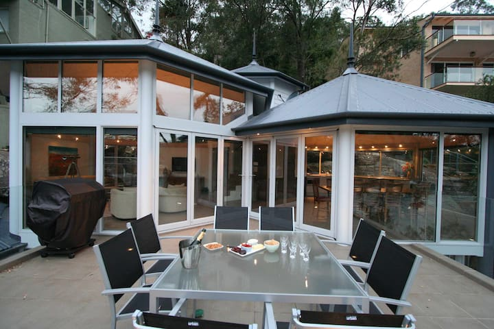 Cowanwaters - Waterfront house - Cottage Point - Ev
