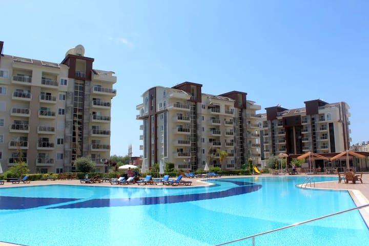 NL, 2 B/R Duplex Orion City Wissam - Alanya - Lägenhet