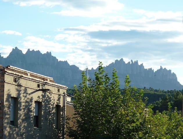 Cozy & quiet apt. near Montserrat - Sant Vicenç de Castellet - Appartement