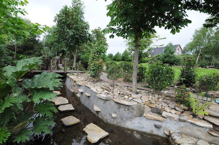 Architect designed house and award winning garden. - Clonaslee - Maison