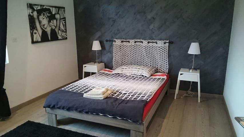 Belle chambre proche Bâle - Hégenheim - Hus