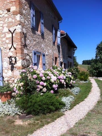 Le jardin des Caussinières - Briatexte - Pension