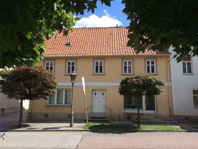 Urig und charmant wohnen in Ballenstedt - Ballenstedt - Appartement