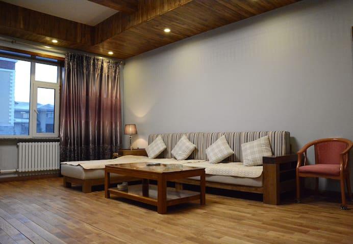 温馨舒适的卧室,紧邻亚布力滑雪度假区 - 哈尔滨市尚志市 - Villa