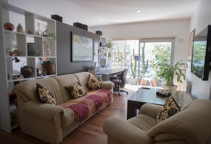 Modern and bright apartment with pool and security - Buenos Aires - Appartement