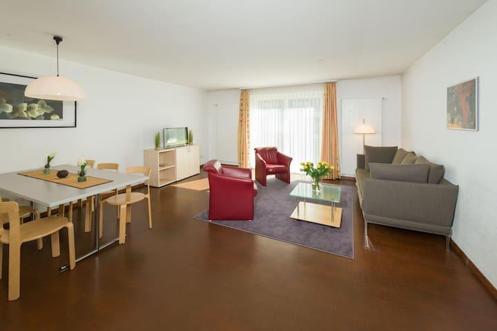 Ferienwohnung zwölf in traumhafter Bergdestination - Grächen - Appartement