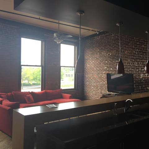 Spacious Old City Loft - Knoxville