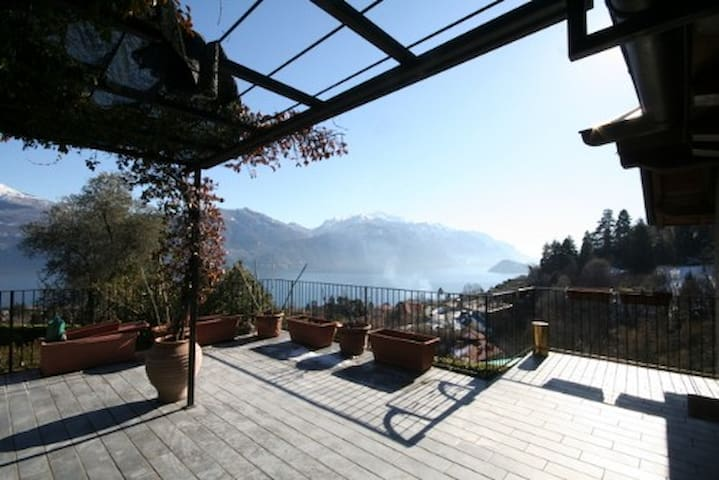 The Cottage with amazing Terrace and Lake View - Menaggio