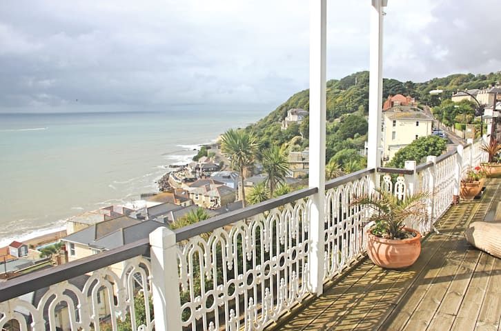 Seacliff - 3 Bed Stunning Apartment - Ventnor - Daire