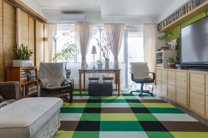 CLEAN ROOM WITH AC (tax included) - New York - Apartmen