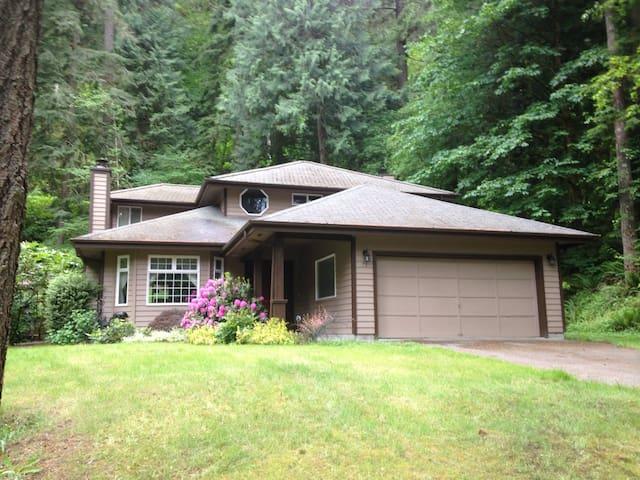 Sudden Valley Rainforest Retreat - Bellingham - Talo