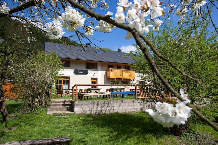 Pension and Restaurant Křížky - Malá Skála - Bed & Breakfast
