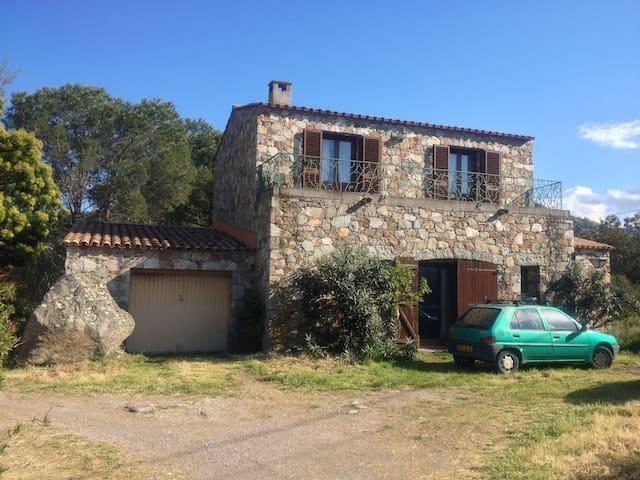 Maison en pierres a deux pas de la plage - Palasca - Overig