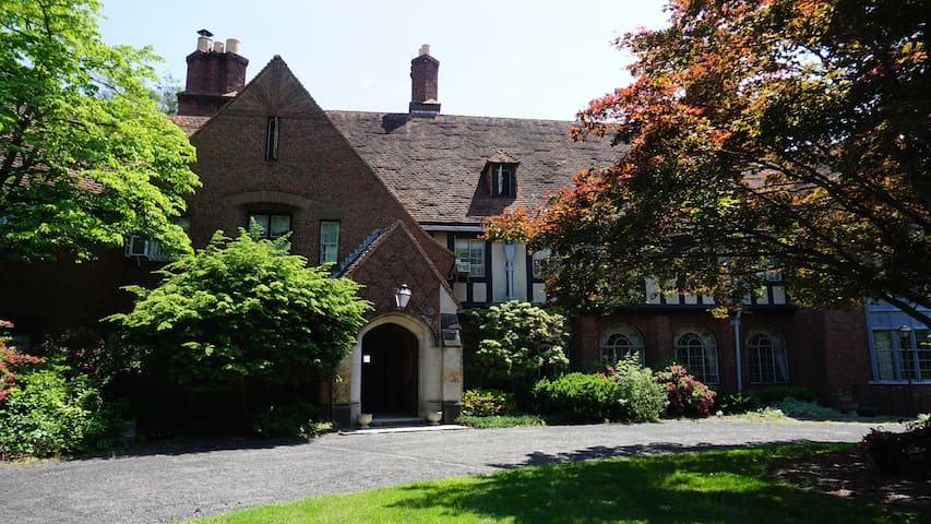 Tudor Mansion in Central Connecticut - Bristol