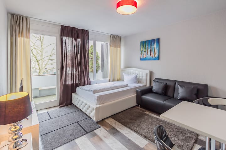 BS Luisenpark-Studio Apartment *Business*Travel* - Mannheim - Apartamento