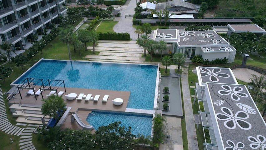 Sea & Mountain view condo Thailand - Sam Roi Yot - Lejlighed